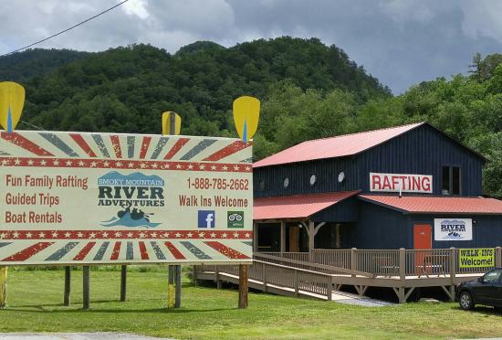 Whittier, Carolina del Norte: raft store