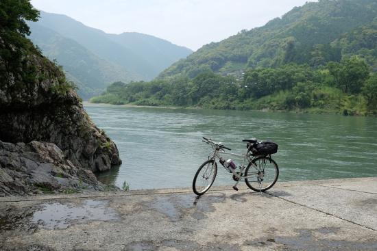Kochi Prefecture, Japón: お借りした自転車 一応MTB