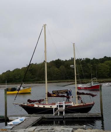 Kennebunkport, ME: The Pineapple Ketch