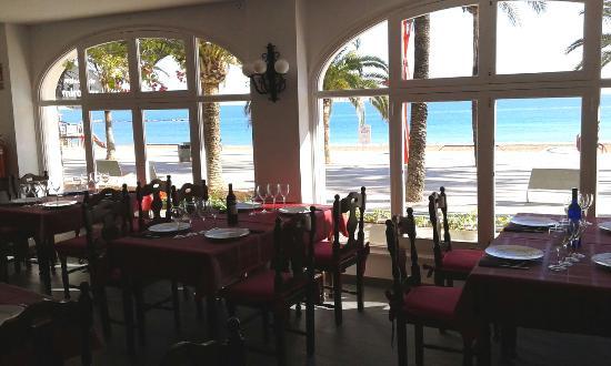 Comedor Picture Of Restaurant Miramar Vinaros Tripadvisor