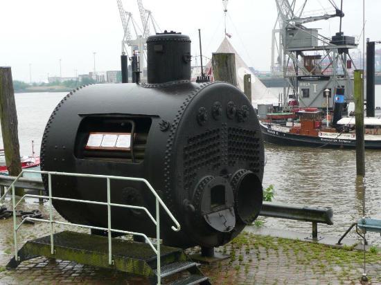 Dampfkessel - Bild von Museumshafen Oevelgönne, Hamburg - TripAdvisor