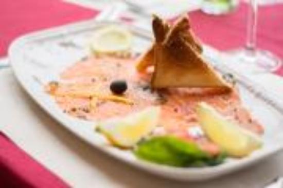 Kyriad Carentan : Notre carpaccio de saumon maison