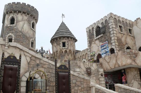 Chancay, Peru: Ingreso a las torres