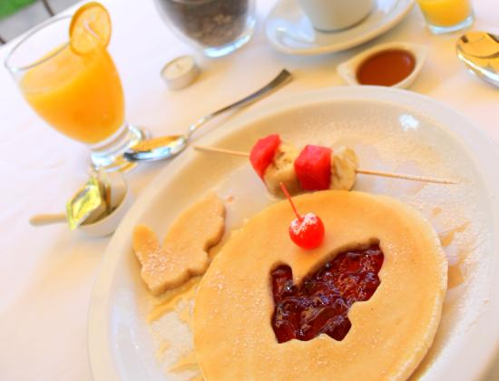 Hotel Las Magnolias : Desayuno Jr. Hot Cakes Gratis