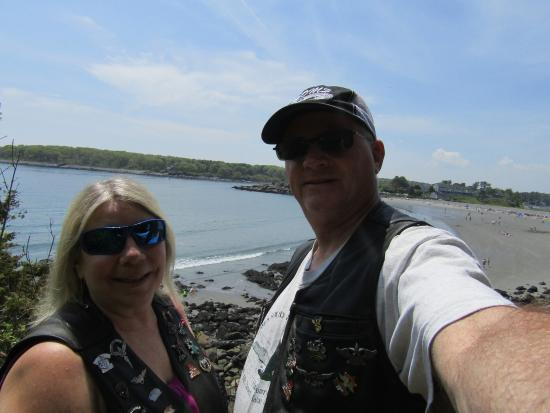 York Harbor, ME: Me & hubby