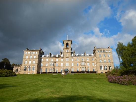 Dunblane, UK: The imposing building