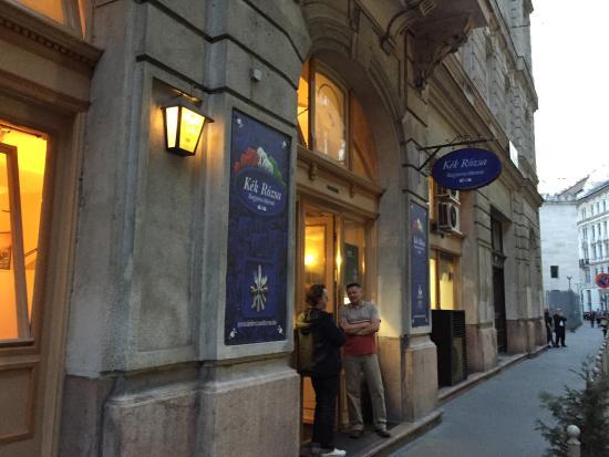Kék Rózsa ( Blue Rose ) Restaurant: Fancy outsides