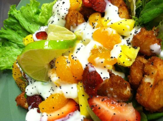 Menominee, MI: Coconut Shrimp Salad