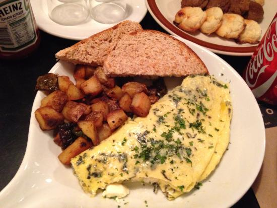 Borough: my omelette