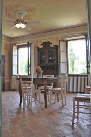 Villa Sant' Andrea: soggiorno