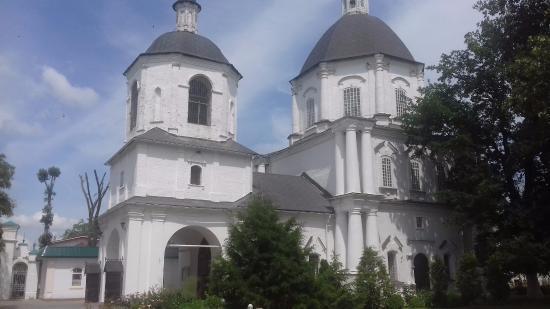 Starocherkasskaya, Russland: Вид с территории подворья атамана
