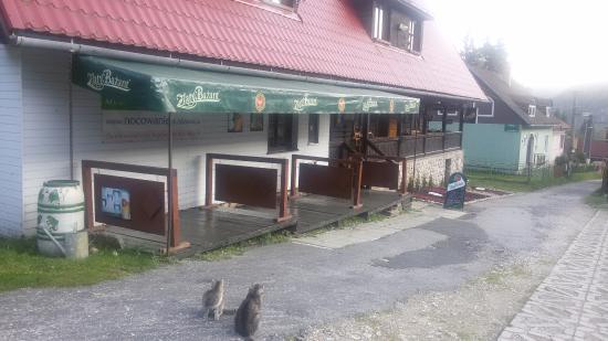 Dedinky, Slovakia: Budova penziónu