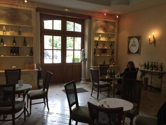 Champagne Comtesse Lafond : Tasting room