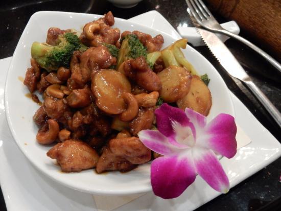 Bowie, MD: Chicken with Cashews