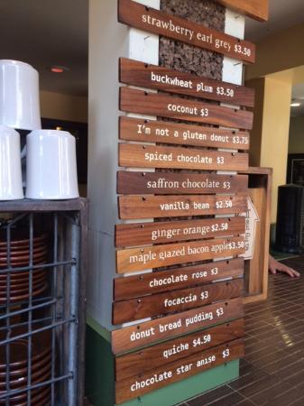 Dynamo Donut & Coffee: Dynamo Donut flavors