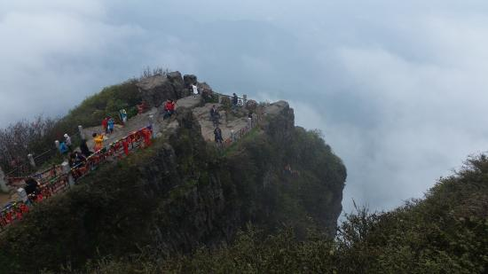 Huazang Temple : Вид с вершины