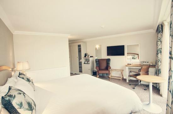 Tewkesbury Park: Bedroom