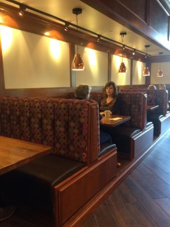Colleyville, TX: Booth seating