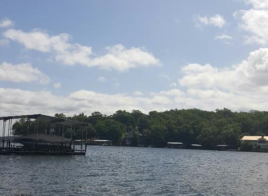 Eagle's Nest Resort & Vacation Properties: View from the dock at the Regatta House!