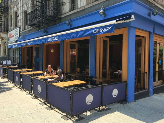 Photo of Italian Restaurant Acqua at 718 Amsterdam Ave, New York, NY 10025, United States