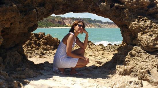 State of Paraiba: Pedra furada.