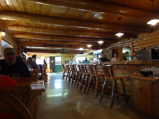 Smiley Creek Lodge: Das Restaurant
