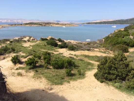 Der FKK Strand Ciganka ist eine Ruheoase, die