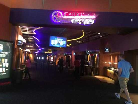 concessions picture of harkins theatres cine capri