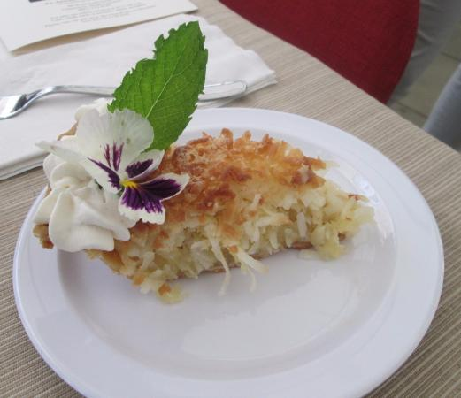 Grace Church Cathedral: Coconut Macaroon Pie
