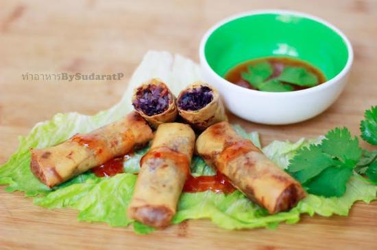 Nem Sarrasin Picture Of Chada Cuisine Thai Rennes Tripadvisor