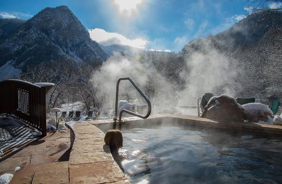 Avalanche Ranch: Morning Hot Springs Soak