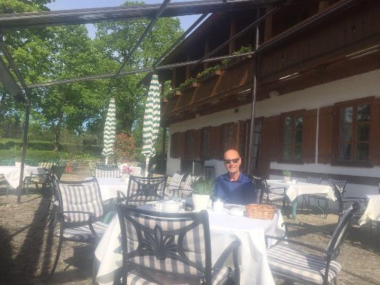 Marienstein, Deutschland: restaurant terrace