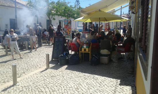 Barao de Sao Joao, Portugal: Dia 1de maio no vadibar