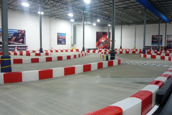 K1 Speed Addison: Track
