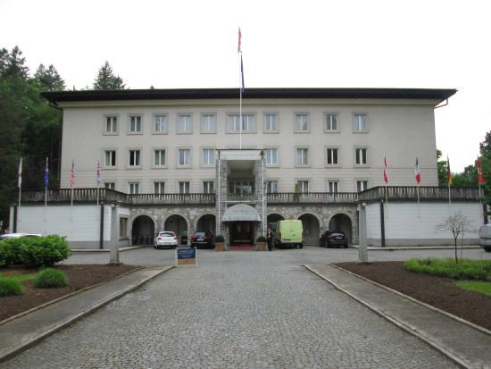 Entrance to Vila Bled