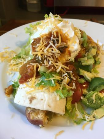 Abigail's Bed and Breakfast Inn: Abigail's Surprise Breakfast Burito