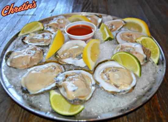 Chretin's Restaurant & Cantina: Oysters