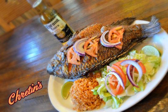Chretin's Restaurant & Cantina: Mojarra