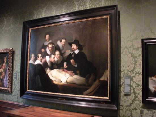 The Famous Rembrandts Dr Culps Anatomy Lesson Picture Of The