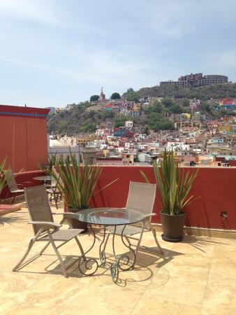 Hotel Real Guanajuato: Rooftop