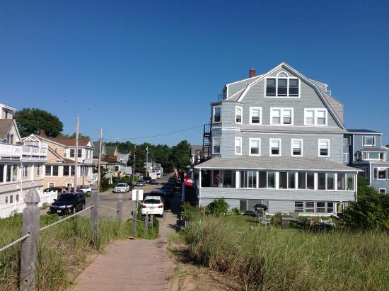 Ocean Park, ME: View of the Inn - 300 ft from the ocean.