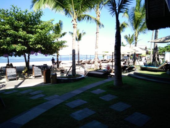 Beach shot from Nudi Bar entrance
