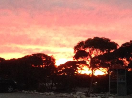 Great sunsets over Eucla