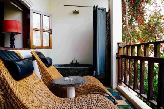 Rambutan Resort - Siem Reap: Private Balcony
