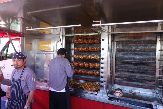 Better Pic Of The Rotisserie Picture Of Roli Roti Gourmet