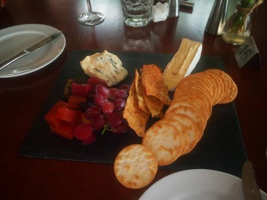 Ocean View, Australia: This was the cheese board we selected to end our divine meal- superb!