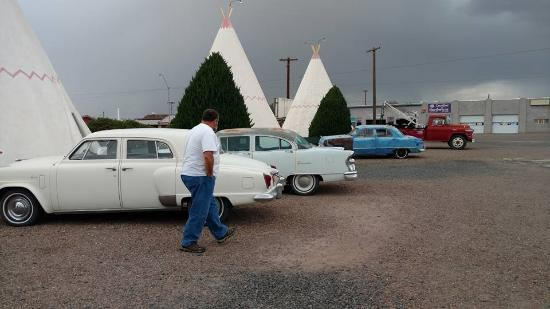 Some of the old cars on the property
