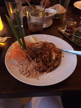 Thai Dishes Beef Pad