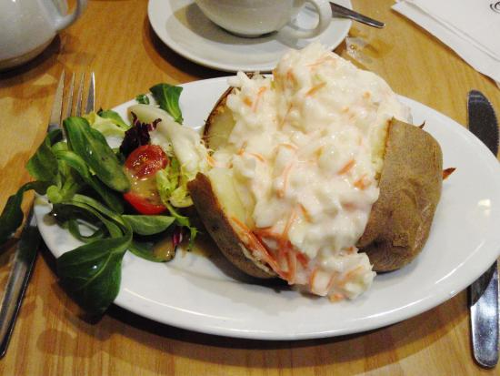 Eastgate Shopping Centre: Jacket Potato with Coleslaw