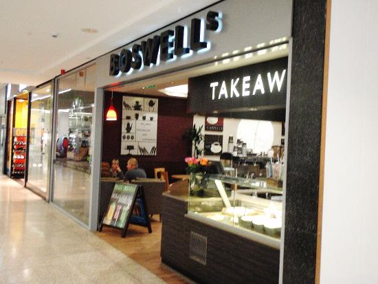Eastgate Shopping Centre: Boswell's Cafe